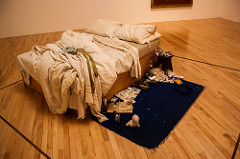 Tracey Emin's My bed courtesy Andy Hay via Creative Commons